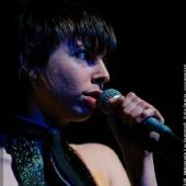 Katerine Gierak sur scène