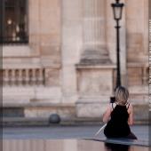 Recherche d\'inspiration au Louvre