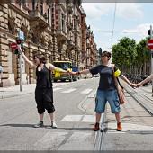 Sécurité le long du tram